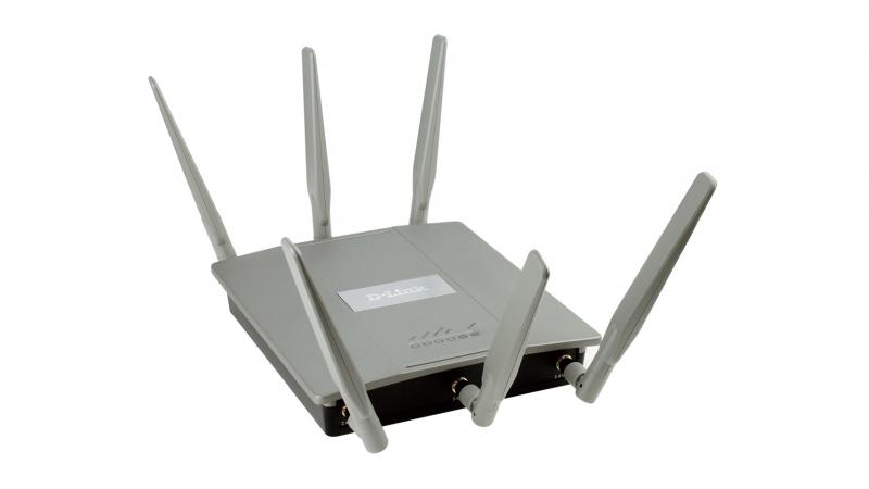 AP wireless interior AC1750, Dual-Band, PoE, D-Link (DAP-2695)