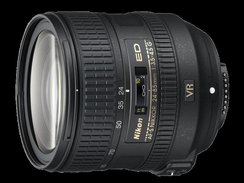 24-85mm f/3.5-4.5G ED VR AF-S NIKKOR