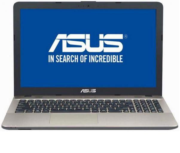 Laptop ASUS VivoBook Max X541NA-GO120 cu procesor Intel® Celeron™ Dual Core N3350 pana la 2.40 GHz, 4GB, 500GB, Intel HD Graphics, Endless OS, Chocolate Black
