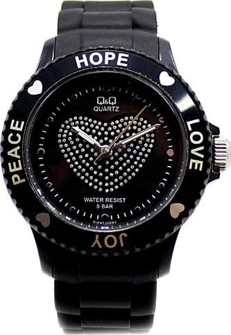 Ceas damă negru Q&Q gw41j009y